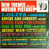 Gordon Jenkins, Billy May, Hugo Montenegro, etc - New Themes From Motion Pictures - LP
