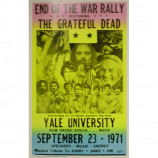 Grateful Dead - End Of The War Rally - Concert Poster
