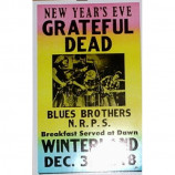 Grateful Dead - Winterland New Year's - Concert Poster