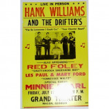 Hank Williams - Grand Theater - Concert Poster