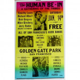 Human Be-In - Human Be-In - Concert Poster