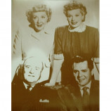 I Love Lucy - Cast - Sepia Print