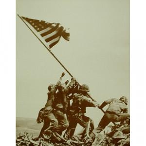 Iwo Jima - Mt. Suribachi - Sepia Print - Books & Others - Others