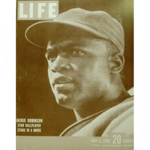 Jackie Robinson - Life Magazine - Sepia Print - Books & Others - Others