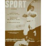 Jackie Robinson - Sport Magazine - Sepia Print
