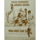 James Bond - You Only Live Twice - Sepia Print