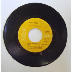Jerry Reed - When You're Hot, You're Hot - 7 - Vinyl - 7""