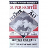Joe Frazier & Muhammad Ali - Super Fight II - Concert Poster
