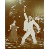John Travolta - Saturday Night Fever - Sepia Print