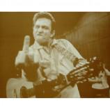 Johnny Cash - Finger - Sepia Print