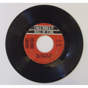 Johnny Horton - Battle Of New Orleans - 7 - Vinyl - 7""