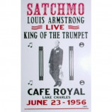 Louis Armstrong - King Of The Trumpet - Concert Poster