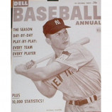 Mickey Manlte - Baseball Annual Magazine - Sepia Print