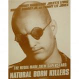 Natural Born Killers - Woody Harelson - Sepia Print