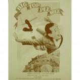 Pee Wee Herman - Big Top Pee Wee - Sepia Print