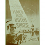 Plan 9 From Outer Space - Movie Promotion - Sepia Print