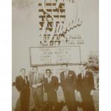 Rat Pack - Frank Sinatra, Dean Martin, Sammy Davis Jr. - Sepia Print