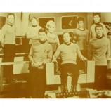 Star Trek - Cast - William Shatner - Sepia Print
