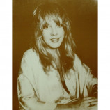 Stevie Nicks - Headshot - Sepia Print