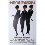 Supremes - Lincoln Center - Concert Poster