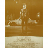 Taxi Driver - Movie Poster - Sepia Print