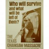 Texas Chainsaw Massacre - Movie Poster - Sepia Print