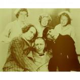 Three Stooges - With The Nurses - Sepia Print