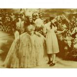 Wizard Of Oz - Dorothy & Glinda Judy Garland - Sepia Print