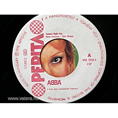 Abba - Summer Night City - Vinyl - 7'' PS