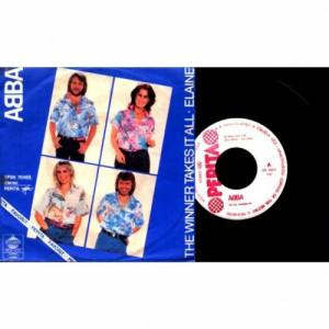 Abba - Winner Takes It All / Elaine - Vinyl - 7'' PS