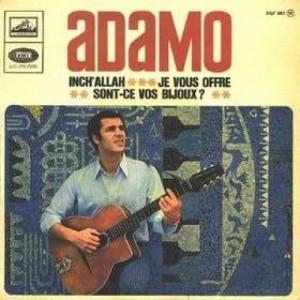 Adamo - Inch'allah / Sont-ce Vos Bijoux? / Je Vous Offre - Vinyl - EP