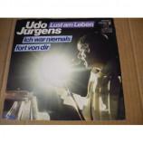 Udo Jurgens - Lust am Leben / Ich war niemals Fort von Dir