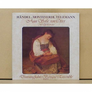 Anne Sofie Von Otter - Handel-monteverdi-telemann - Vinyl - LP