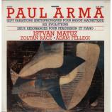 Arma Paul - Sept Variations Spatiophoniques Pour Bande Magnetique