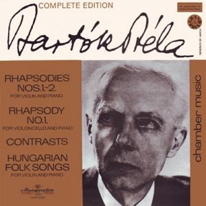 Bartok Bela - Rhapsodies N.1-2/Rhapsody N.1/Contrasts/Hungarian FolkSongs - Vinyl - LP