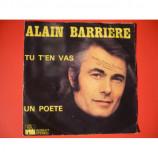 ALAIN BARRIE - NOELLE CORDIER - Tu t'en vas / Un poete