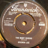 Brenda Lee - Too Many Rivers / No One