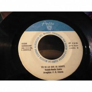 """Cesar Sarracent - Surgio La Melodia / Yo Se Lo Que Se Siente - Vinyl - 7"""""""