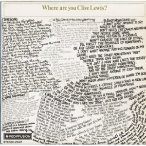Clive Lewis - Where Are You Clive Lewis? - Vinyl Record - LP