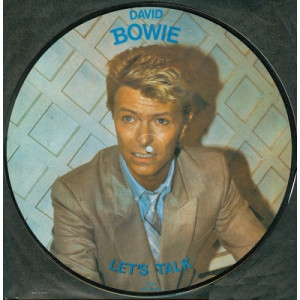 David Bowie - Let's Talk / Rare Interview - Vinyl Record - LP Picture Disc