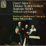 David Oistrach,rostropowitsch,richter,karajan - Beethoven:tripelkonzert C-dur Op.56