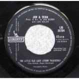 JAN & DEAN - The Little Old Lady (From Pasadena) / My Mighty G.T.O