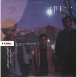 Freda - Det Som Gor Mig Lycklig - CD - Single