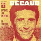 Gilbert Becaud - La Vente Aux Encheres / La Solitude Ca N'existe Pas