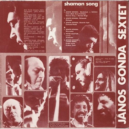 Gonda Sextet - Samanenek - Shaman Song - Vinyl - LP