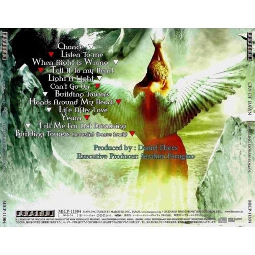 Cry of Dawn featuring Goran Edman - Cry of Dawn - CD - Album