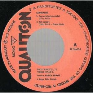 Koltay Robert - Verebes Istvan - Radiokabare - Vinyl - EP