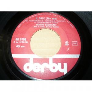 """Sergio Leonardi - Il Sole (The Sun)  - Non Ti Scordar Di Me - Vinyl - 7"""""""