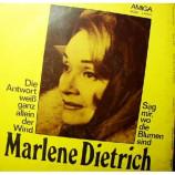 Marlene Dietrich - Die Antwort Weis Ganz Allein Der Wind/Sag Mir,wo Die Blumen