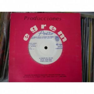 """Pacho Alonso Y Sus Pachucos - La Chalupa Del Upa Upa/pocas Veces Se Dice La Verdad - Vinyl Record - 7"""""""